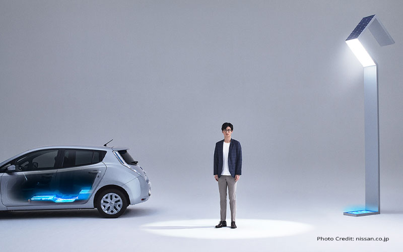 "Nissan ""Reborn Light"": l'idea di riciclare le batterie"